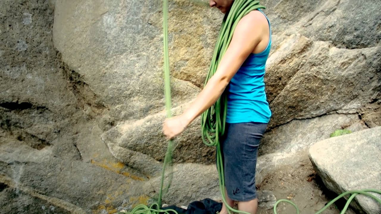How to Coil a Climbing Rope