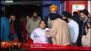 Sadda Haq - Special Report on Sikh Channel movie in cinema Sada Haq (UK)