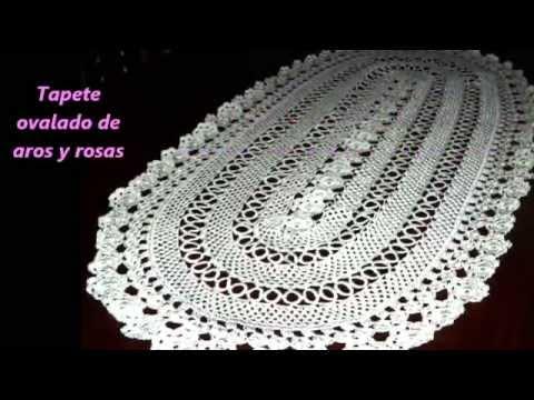 Artesania de tejidos a crochet youtube - Como hacer tapetes de ganchillo ...