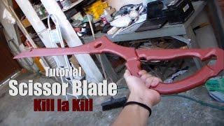 D.I.Y - Como fazer a Scissor Blade (Espada Tesoura) de Kill la Kill - Kmaker Tutorial