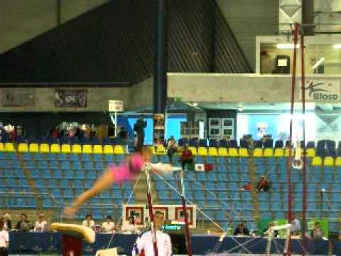 Jessica Lopez - Gent CC 2011 Qualifications Uneven Bars