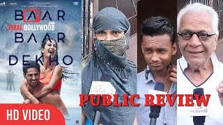 Baar Baar Dekho Full Movie Public Review | First day First Show | Katrina Kaif, Sidharth Malhotra