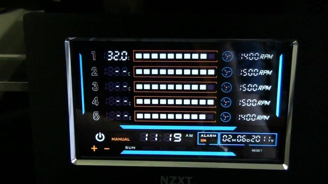 Sentry Lxe Installation Nzxt Sentry Lxe Fan Controller