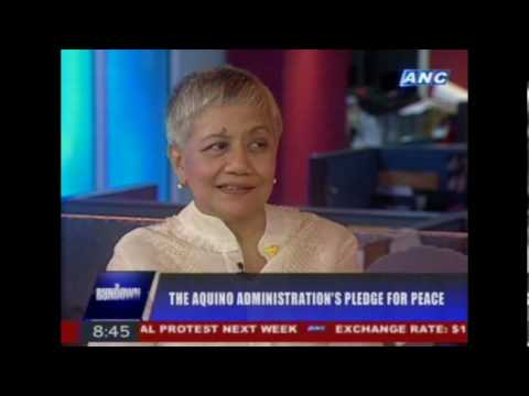 Sec. Teresita 'Ging' Deles on THE RUNDOWN July 1, 2010 (Part 3 of 3)