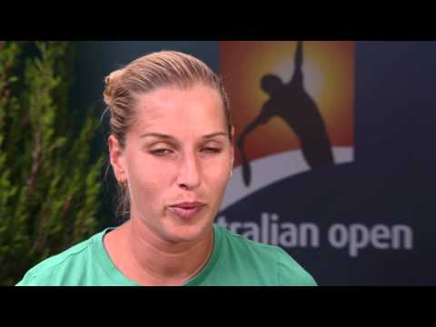 Dominika Cibulkova interview (2R) - Australian Open 2015