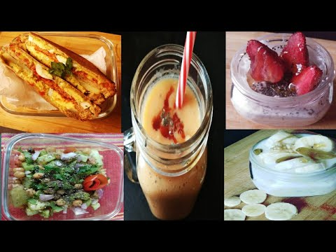 5 Healthy Breakfast Ideas|What I Ate MONDAY-FRIDAY| INDIAN BREAKFAST IDEAS THAT HELPS TO LOSEWEIGHT