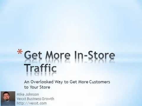 How To Get More In-Store Traffic -Retail Marketing Alliances