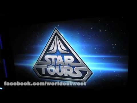 STAR TOURS 2.0 * Very First Ride at Disneyland * HD 5/20/11