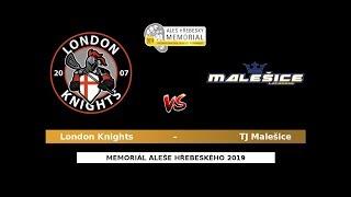 41 - Blue QF3: London Knights – TJ Malešice