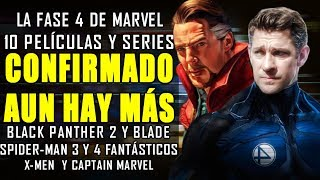 CONFIRMADO Todas las películas y series para la Marvel Fase 4 GRAN REVELACIÓN SDCC 2019  NOTICIA