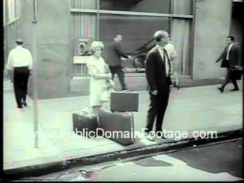 1965 Taxi Cab Strike in Chicago and New York City Newsreel PublicDomainFootage.com