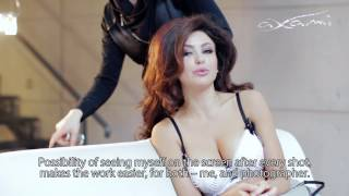 Axami Sex in the City photo shoot