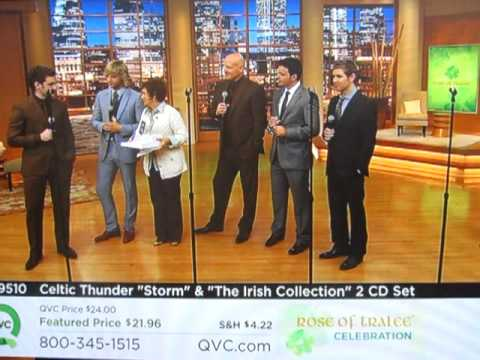 Celtic Thunder on QVC Rose of Tralee 2011 - 1st Appearance