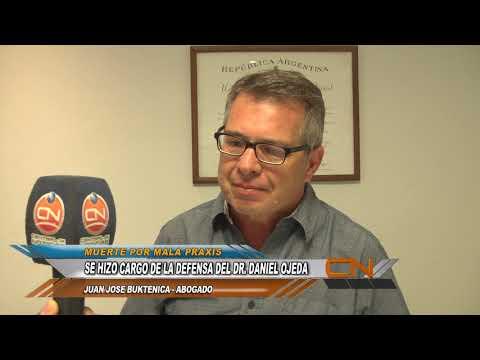 Juan José Buktenica es el abogado defensor del Dr. Daniel Ojeda