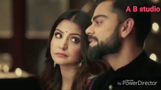 Virat kohli And anushka sharma songs new version O karam khudaya hai tujhe mujhse milaya hai