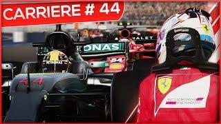 TOUCHETTE AVEC VETTEL!!! - F1 2017 #44 (FR)