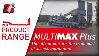 FAYMONVILLE MultiMAX Plus - The allrounder for the transport of access equipment