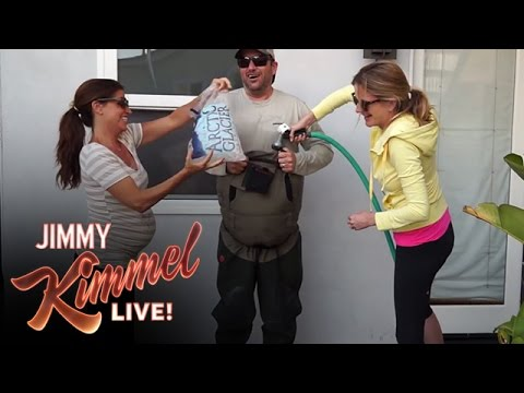 Jimmy Kimmel Takes the #ALSIceBucketChallenge