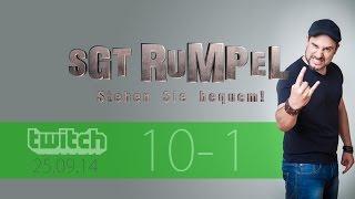 Livestream SgtRumpel #10 Part A
