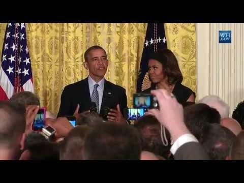 Obama hosts White House LGBT Pride Reception