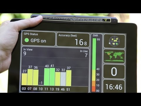 Asus Transformer Prime TF201 GPS Extension Kit (Real World Test!)