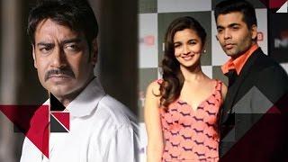 Alia Bhatt Ditches Ajay Devgn To Show Her Loyalty Towards Karan Johar   Bollywood Gossip