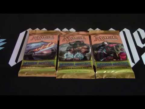 3 Modern Masters 2013 Boosters opened MTG Magic the Gathering! Openboosters!