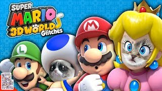 Cats Everywhere - Glitches in Super Mario 3D World - DPadGamer