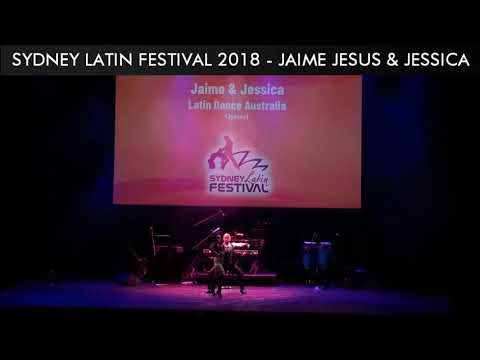SYDNEY LATIN FESTIVAL 2018 - JAIME JESUS & JESSICA LAI
