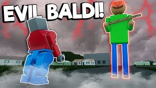 EVIL LEGO BALDI'S BASICS VS GRANNY SURVIVAL! - Brick Rigs Multiplayer Gameplay