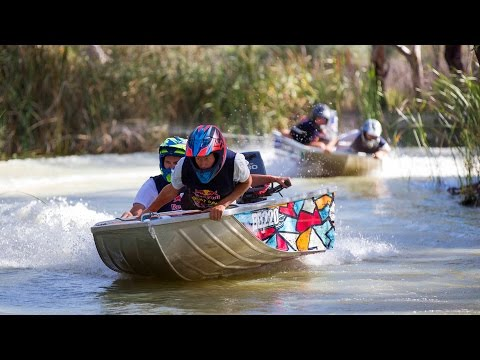 Extreme Dinghy Racing in Australia