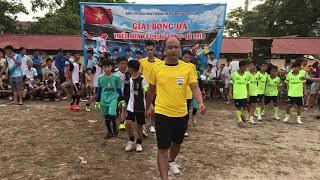 Giải bóng đá thiếu niên xã phụng công.Đầu & bến