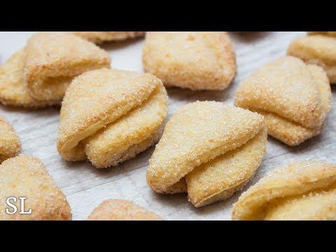 Творожное Печенье Как в Детстве! Творожные Треугольники (Ушки)! Рецепт!