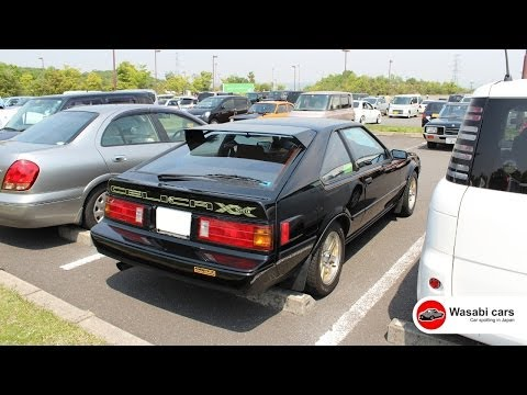 Super Rare: 1984 Toyota Celica XX Super 2000GT Black Version - GA61 (MkII Supra)