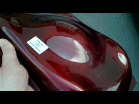 Blood Red Auto Paint