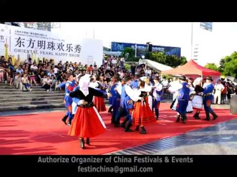 2014 Shanghai Tourism Festival - Poland Folk Dance Ensemble