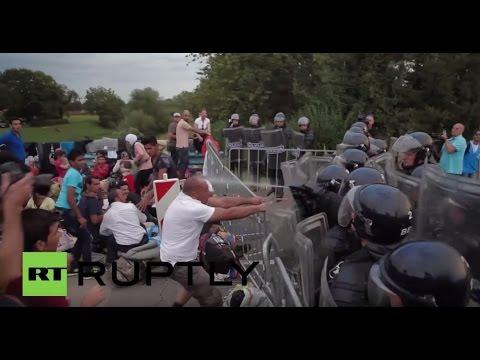 Croatia: Slovenian police pepper spray refugee at Harmica border