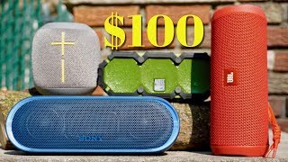 Best $100 Speaker? JBL Flip 4 Vs Sony XB20 Vs UE WONDERBOOM Vs Altec Mini Lifejacket 2