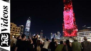 Huawei Mate 20 RS Porsche Design gets special Burj Khalifa showcase