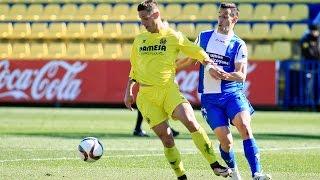Resumen Villarreal B 1-1 Alcoyano