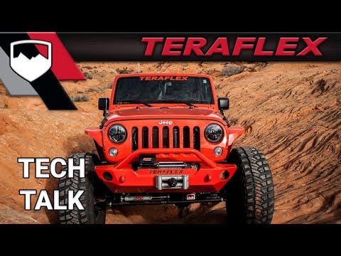 TeraFlex Tech: Stock JK vs. Lifted JK