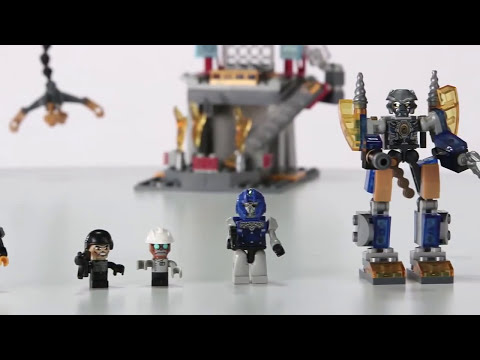Transformers 4 Age of Extinction Kre-O Galvatron Factory Battle Set