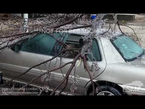 01-15-2017 NW Oklahoma, Ice Storm - Aerial