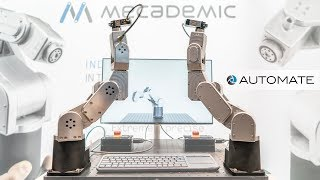 Meca500 - The Worlds Smallest 6-axis industrial robot by Mecademic