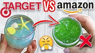 TARGET SLIME VS AMAZON SLIME! Which is Worth it?!?