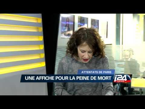 Post-attentat de Paris : Affiche pour la peine de mort en France