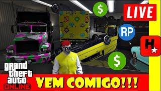 GTA V Online Dinheiro + RP Fácil 😍 Bora jogar comigo! HUNTERS_ALPHA