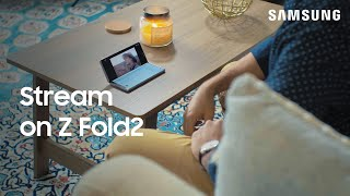 01. The many ways to watch videos on the Galaxy Z Fold2 | Samsung US