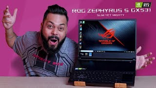 The FASTEST Gaming Laptop I Have Experienced...ASUS ROG Zephyrus S GX531