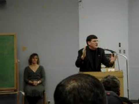 ... Hall/College of Marin - December 10, 2006 regarding his new Book